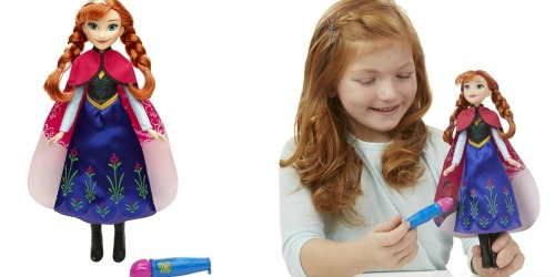 Amazon: Disney Frozen Anna's Magical Story Cape Doll Only $10.62 (Regularly $19.99)