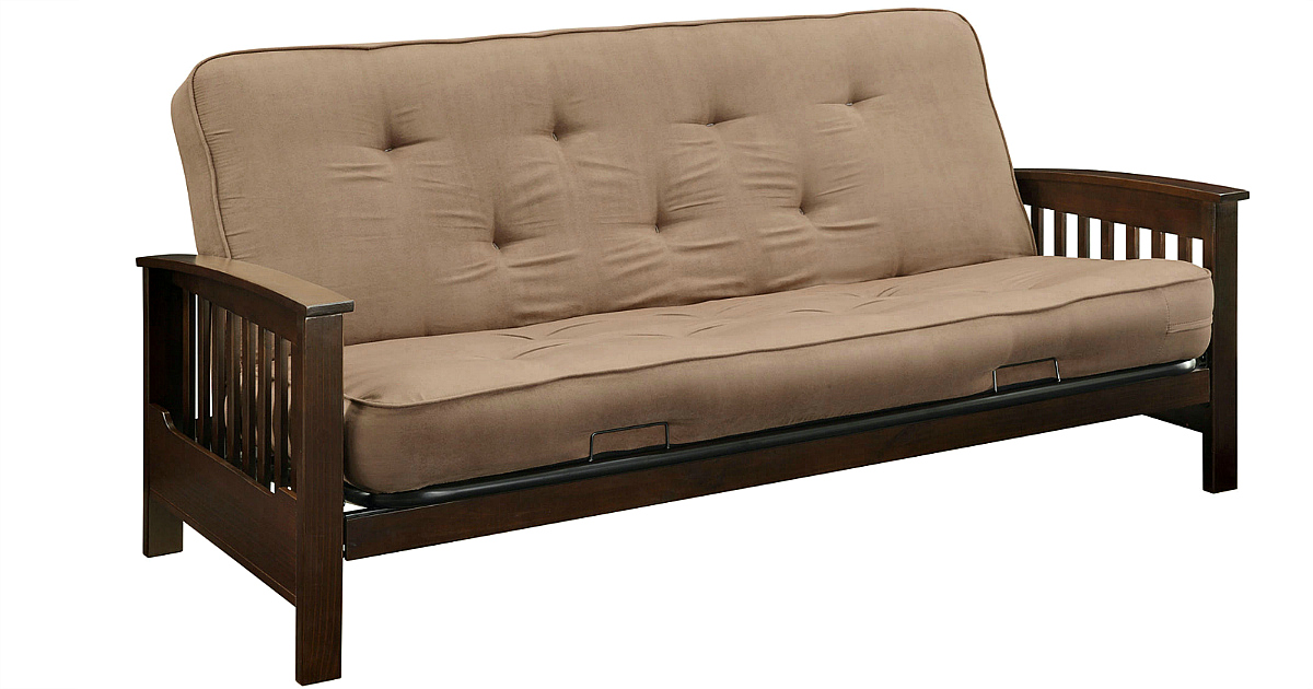 Kmart Com Essential Home Heritage Futon W Mattress Only 191 25 Earn 122 In Syw Points Hip2save