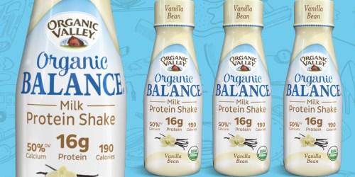 FREE Organic Valley Organic Balance Protein Shake Product Coupon