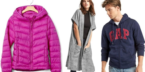 GAP.com: Extra 40% Off Entire Purchase = Girl's Puffer Jacket Just $23.99 (Reg. $78) + More