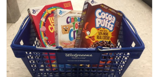 Walgreens: General Mills Cereals Only 99¢ Each When You Buy Two (After Checkout 51)