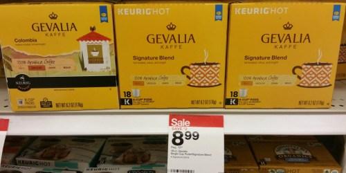 Target: Gevalia K-Cups Only 39¢ Each + Nice Deal on McCafé Ground Coffee