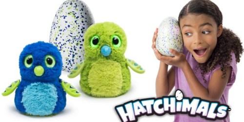 Walmart.com: Hatchimals Hatching Eggs Only $48.88 Shipped