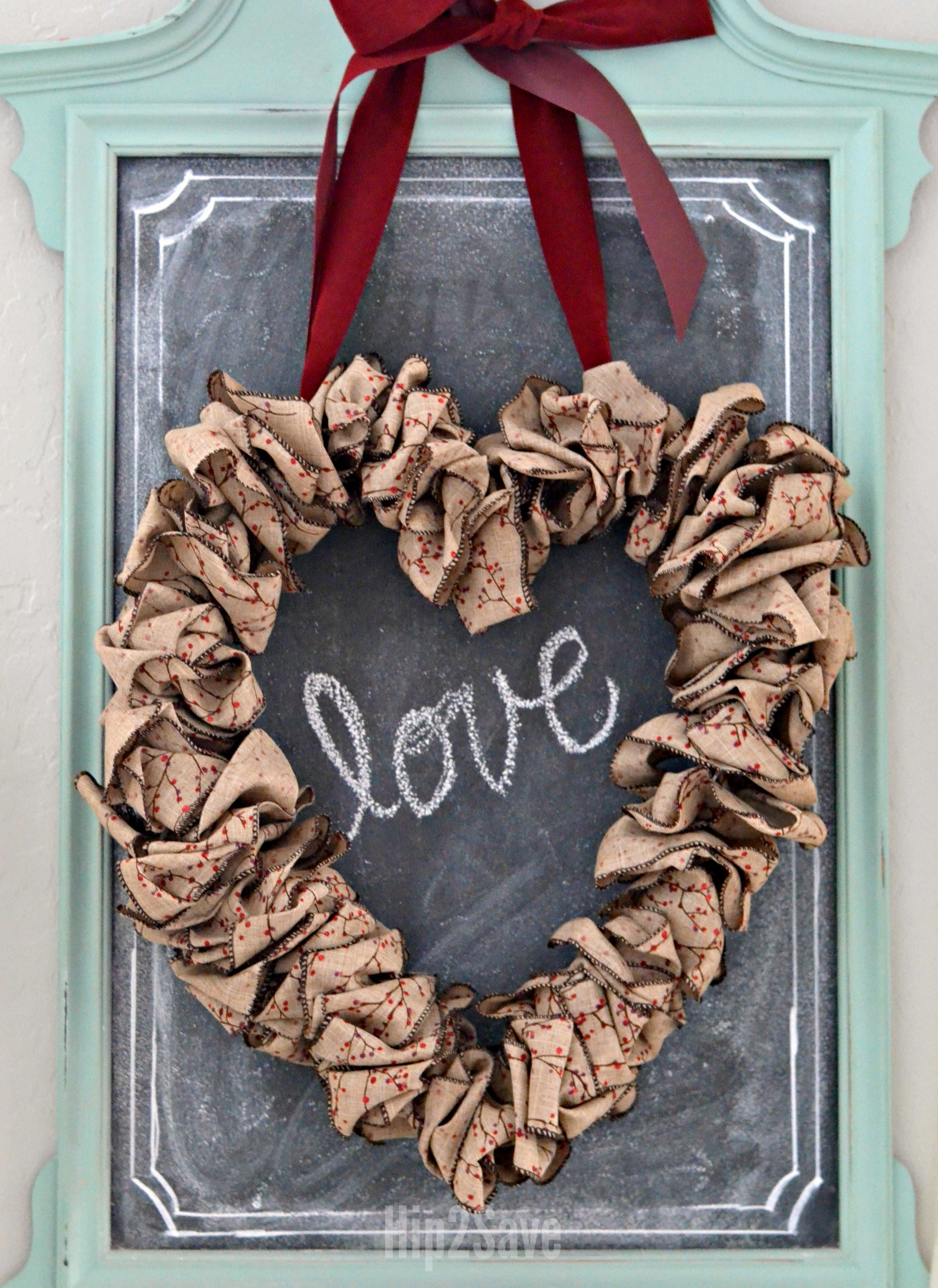 homemade-heart-wreath