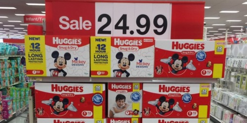 Target: Huggies Diaper Super Packs Only $13.99 Each After Gift Cards (Starting 1/8)