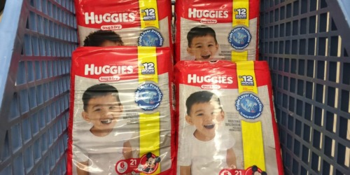 Rite Aid: Huggies Diapers & Pull-Ups Jumbo Packs $1.32 Each After Points & Catalina (Starts January 8th)