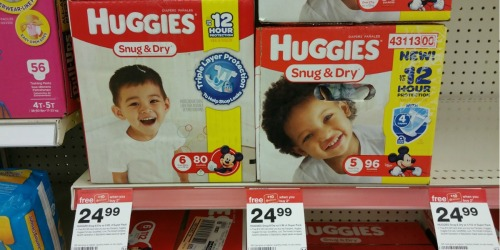 Target Shoppers! Score $130 Worth of Huggies Diapers & Wipes For Under $66