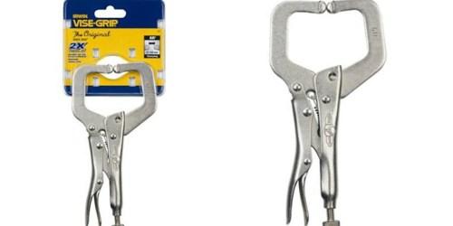 Sears.com: Irwin 6 inch Locking C-Clamp Only $7.27 (Regularly $15.99)