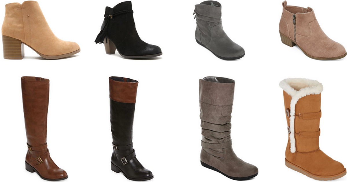 7b2432981ef4 JCPenney   10 Off  25 Coupon   Women s Boots Only  19.99 (Regularly Up To   90) - Hip2Save