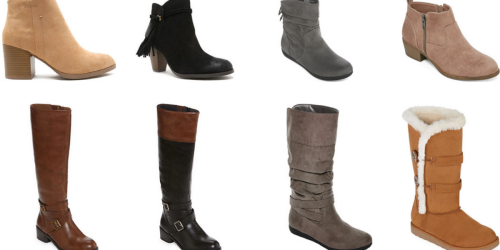 JCPenney: $10 Off $25 Coupon = Women's Boots Only $19.99 (Regularly Up To $90)