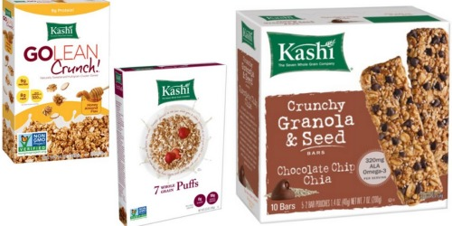 Amazon: 25% Off Kashi Products = Whole Grain Puffs Cereal Only $1.62 Shipped + More