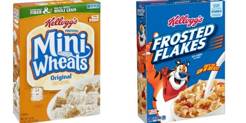 Target: Save BIG on Kellogg's Cereals (Starting 1/8)