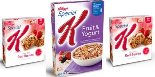 Walgreens: Kellogg's Special K Bars Only 92¢ Per Box + More (Starting January 8th)