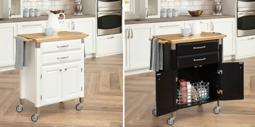 Kmart.com: Solid Wood Top Kitchen Cart $178.82 Shipped AND Earn $119 Shop Your Way Points