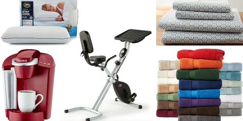 Kohl's.com: $10 Off $50 Home Purchase + 15% Off = Nice Deals on Keurig, Exercise Bike, Towels & More