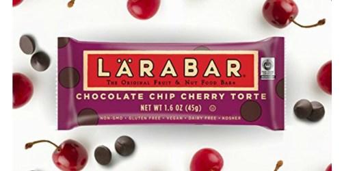 Amazon: 25% Off Larabar Gluten Free Bars = Only 63¢ Per Bar Shipped