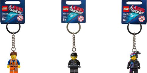 LEGO.com: LEGO Movie Key Chains ONLY 99¢ (Regularly $5.99)