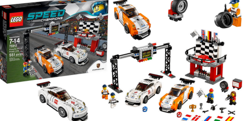 LEGO Speed Champions Porche Finish Line Set Only $29.99 Shipped (Regularly $54.99)