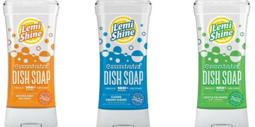 *NEW* Lemi Shine Product Coupons = Dish Soap Only $1.17 at Target