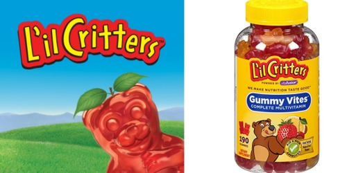 Amazon: L'il Critters Gummy Vites Multivitamin 190 Count Only $7.65 Shipped