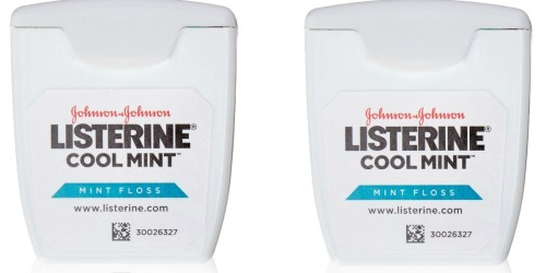Walgreens: Listerine Floss Only 99¢ Each (After Balance Rewards Points)