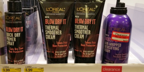 Target: L'Oreal Stylers As Low As 53¢ Each + L'Oreal Hair Color Only $1.74 After Gift Card