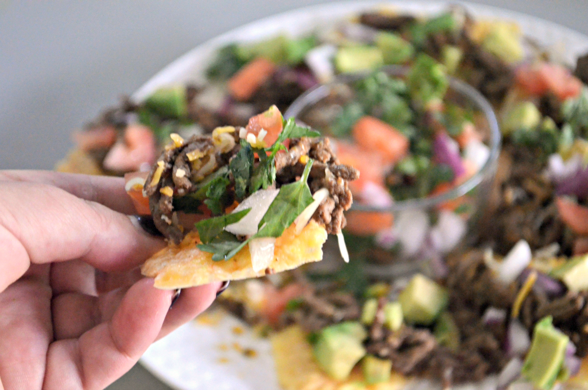 low-carb crispy nacho chips