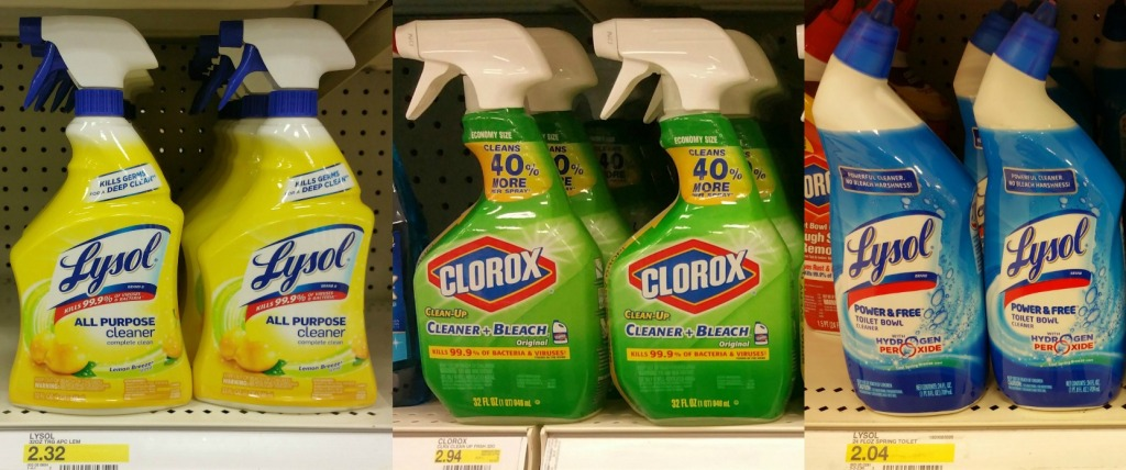 Target Save Big On Household Cleaners Mr Clean Clorox