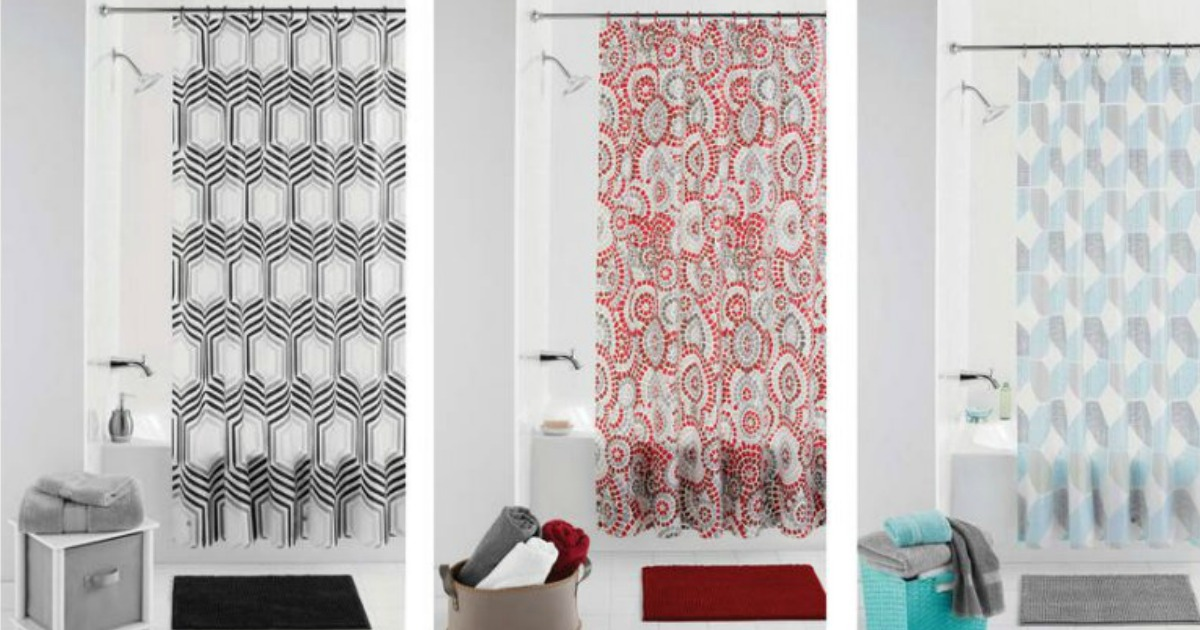 Walmart Mainstays Bath Sets Only 5 Includes Shower Curtain