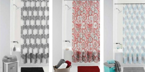 Walmart.com: Mainstays Bath Sets Only $5 (Includes Shower Curtain, Bath Mat & Curtain Rings)