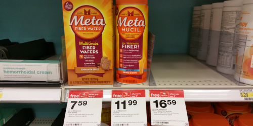 New $2/1 Metamucil Coupon = Fiber Wafers Only $2.09 Each at Target (After Gift Card & Checkout 51)