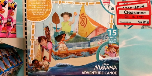 Target Toy Clearance: Disney Moana & Finding Dory Play Tents Only $11.98 (Regularly $39.99) + More