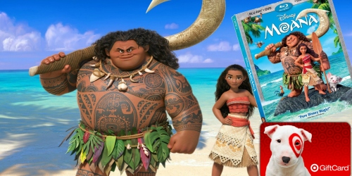 Target.com: Pre-Order Moana Blu-ray/DVD Combo Pack for $19.99 AND Score Free $5 Gift Card