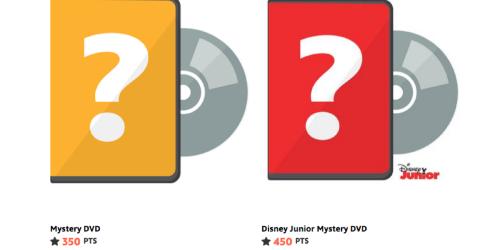 Disney Movie Rewards: Mystery DVD Only 350 Points Or Disney Jr. DVD Only 450 Points