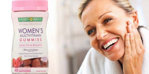 Walgreens: Nature's Bounty Vitamin Gummies Only 99¢ (After Ibotta)