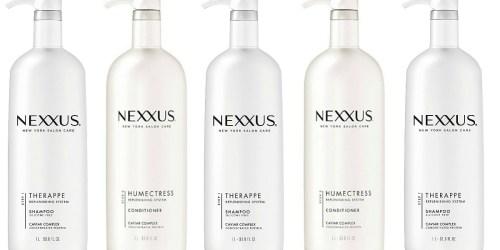 Amazon: Nexxus Therappe Moisturizing Shampoo HUGE 33.8oz Bottle Only $12.09 Shipped