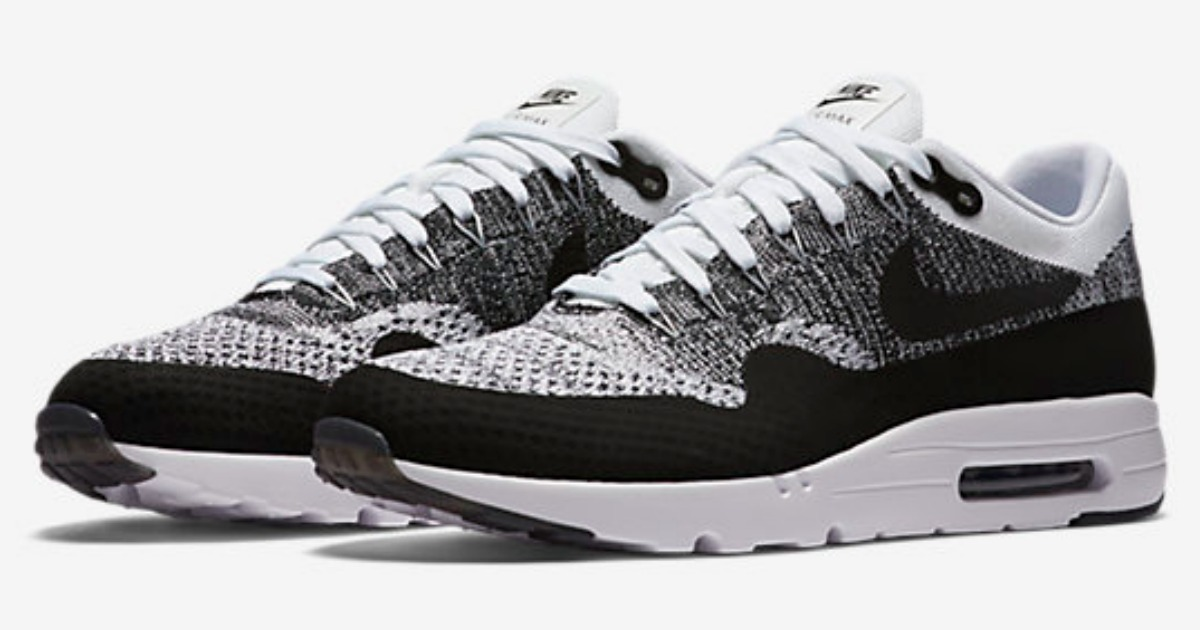 27ba97ef1e Nike Air Max Ultra Flyknit Men's Shoes Only $79.97 (Regularly $160 ...