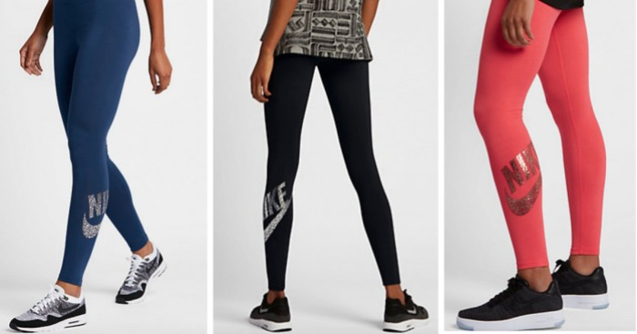 54d4f8df37447 Nike Flash Sale: 50% Off Styles for Entire Family = Women's Leggings ...