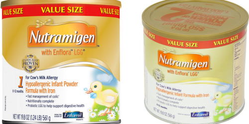 Amazon Prime: 4 Nutramigen Baby Formula 19.8oz Canisters $94.42 Shipped ($23.61 Each)
