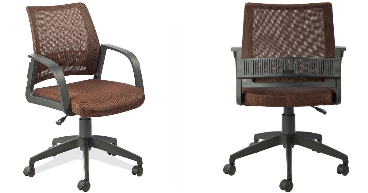 office-chair  sc 1 st  Hip2Save & Kmart: Leick Mesh Back Office Chair $64.56 Shipped + Earn $52.92 ...