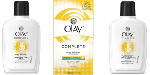 Amazon Prime: TWO Olay Complete All Day Moisturizers Only $10.01 Shipped (Just $5 Each)