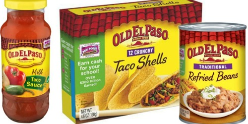Walgreens: Old El Paso Taco Sauce, Shells and Refried Beans Only 66¢ Each