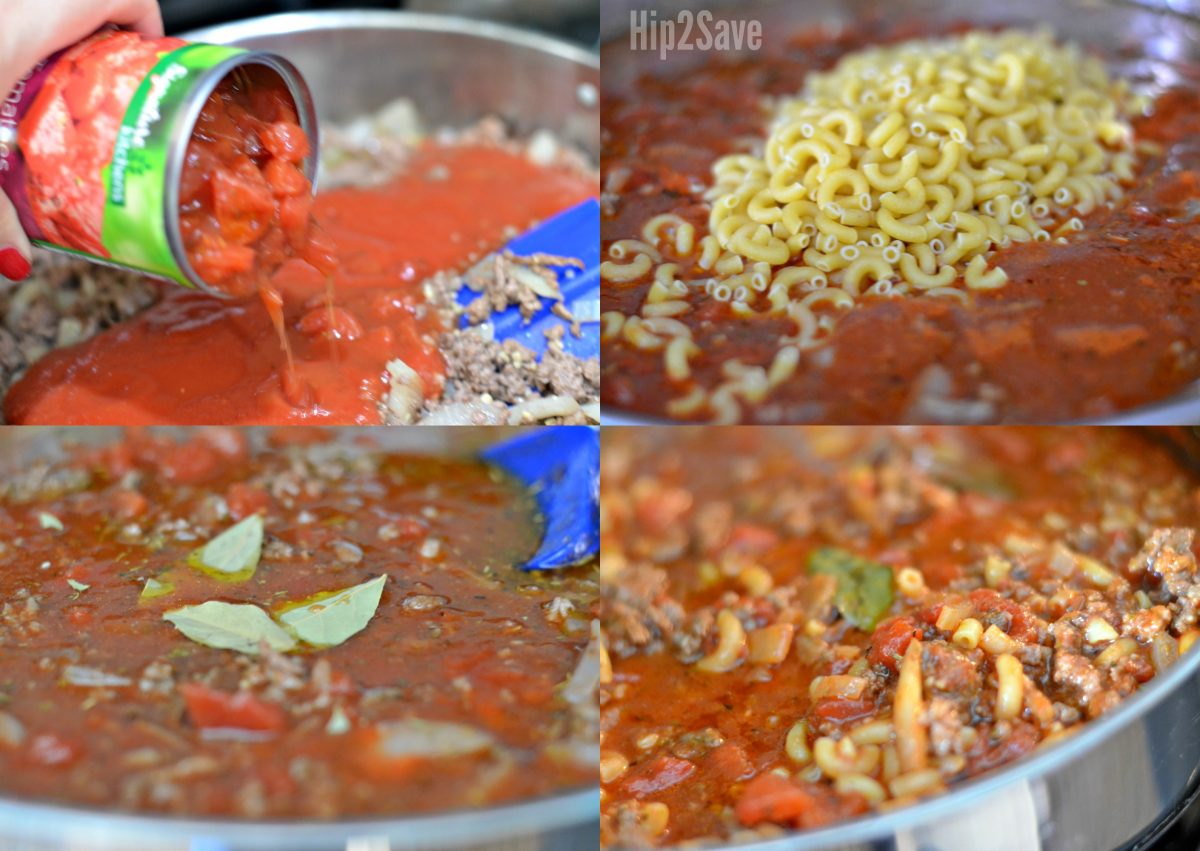 steps to making the goulash