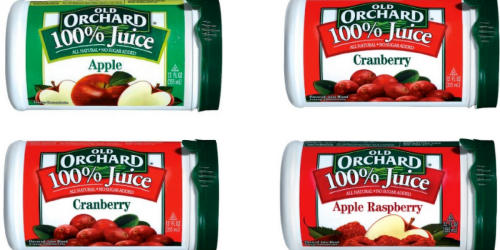 NEW Buy One Get One Free Old Orchard Frozen Juice Coupon = Juice ONLY 80¢ At Target