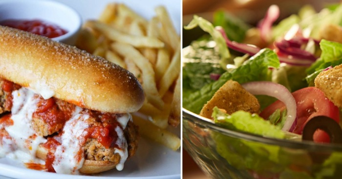 Olive Garden: Lunch Duos Combo ONLY $6.99 (Comes w/ Unlimited Soup or Salad & Breadsticks)