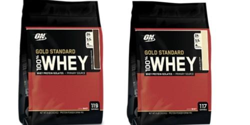 Vitamin Shoppe: Optimum Nutrition Whey Protein Powder 8-Pounds Only $64.99 Shipped (Reg. $84.99)
