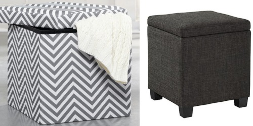 Kmart.com: 50% Back in Points on Select Furniture = Great Buys on Storage Ottomans