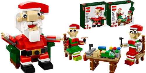 LEGO Santa Sets Only $4.99 (Regularly $9.99)