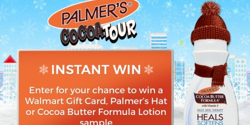 Palmer's Instant Win Game: Enter To Win Walmart Gift Cards, Samples & More (40,000+ Winners)