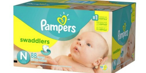 Target.com: Pampers Super Pack Diapers $12.91 Each Shipped After Gift Cards (Reg. $24.99)